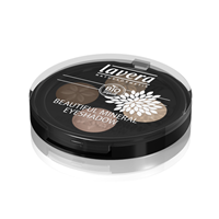 Lavera Beautiful Mineral Eyeshadow Quattro 02 Cappuccino Cream